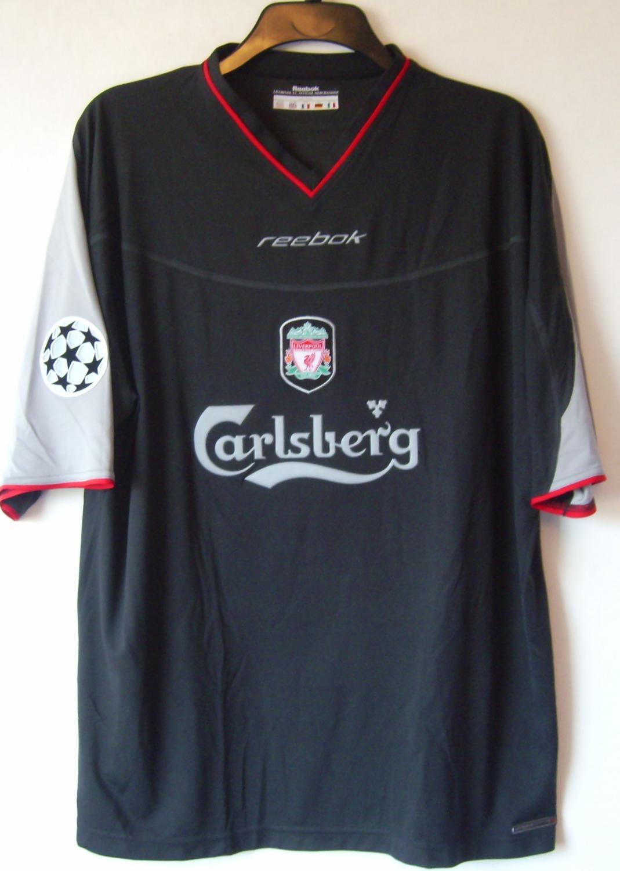 3a5138064 Liverpool Away football shirt 2002 - 2003. Sponsored by Carlsberg
