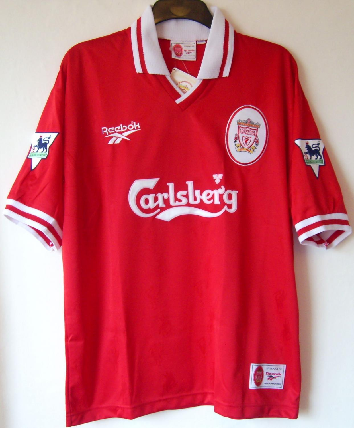 Details about Reebok LIVERPOOL Carlsberg FOOTBALL Shirt ADULT Size XL