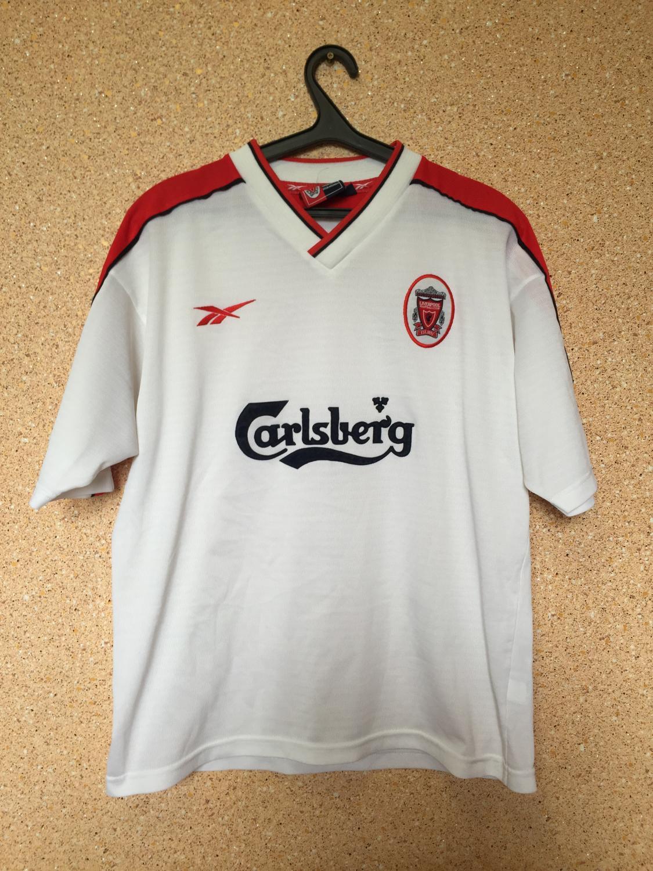 ea684a5cbb5 Liverpool Away camisa de futebol 1998 - 2000. Sponsored by Carlsberg