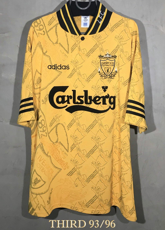 Liverpool Il Terzo maglia di calcio 1993 - 1996. Sponsored by ...