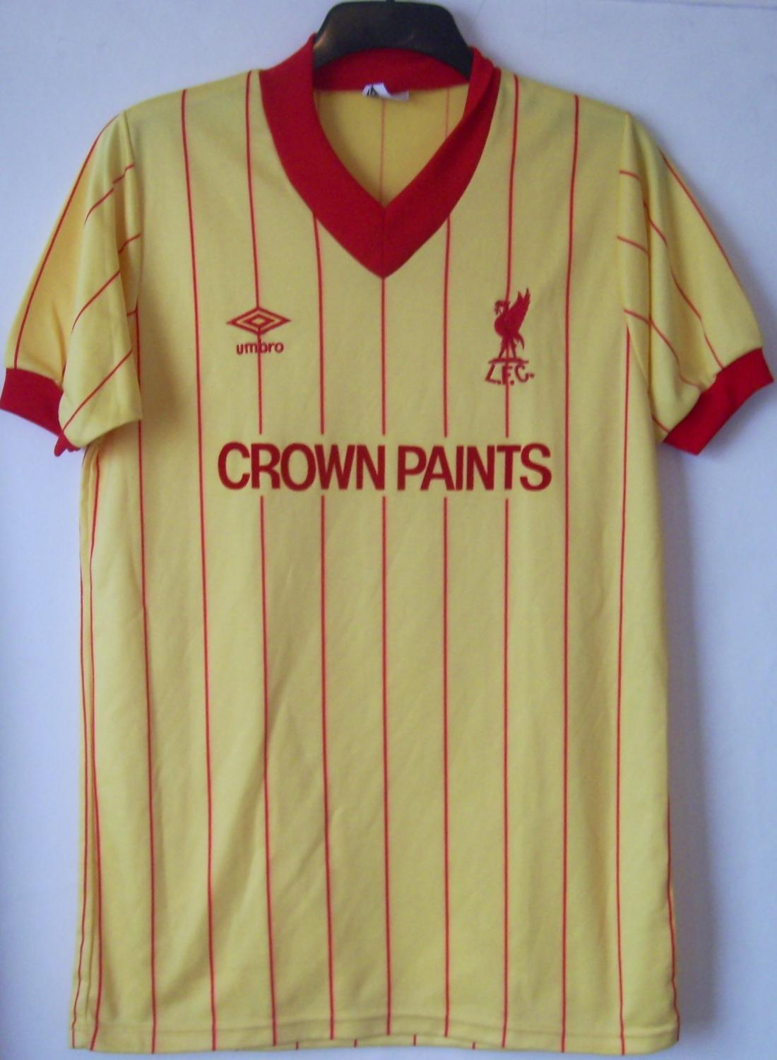 save off a71f9 6c720 Buy Old Liverpool Football Shirts