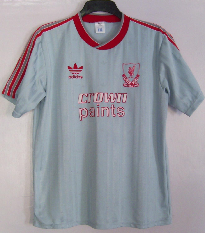 a7b18c6fc Liverpool Away fotbollströja 1987 - 1988. Sponsored by Crown Paints