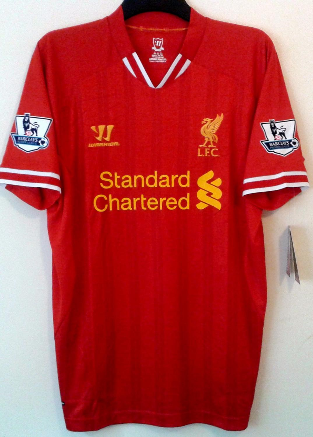 finest selection d3011 9d1cd Liverpool Home football shirt 2013 - 2014. Sponsored by ...