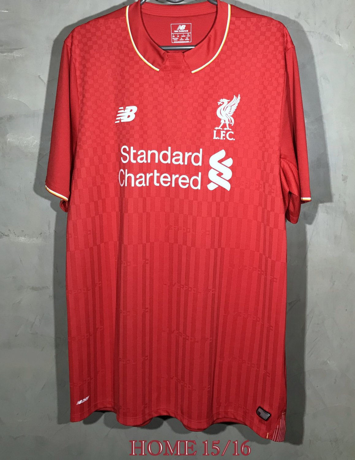 info for df7dd 4e2ad Liverpool Home football shirt 2015 - 2016. Sponsored by ...