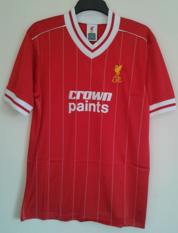 Liverpool Repliche Retro maglia di calcio 1982 - 1983. Sponsored ...