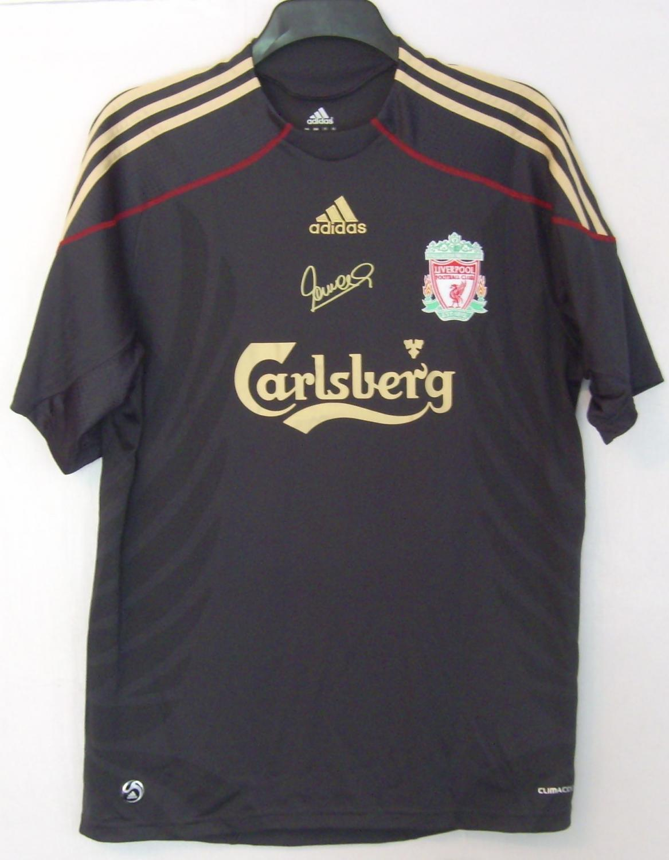 Liverpool Speciale maglia di calcio 2009 - 2010. Sponsored by ...
