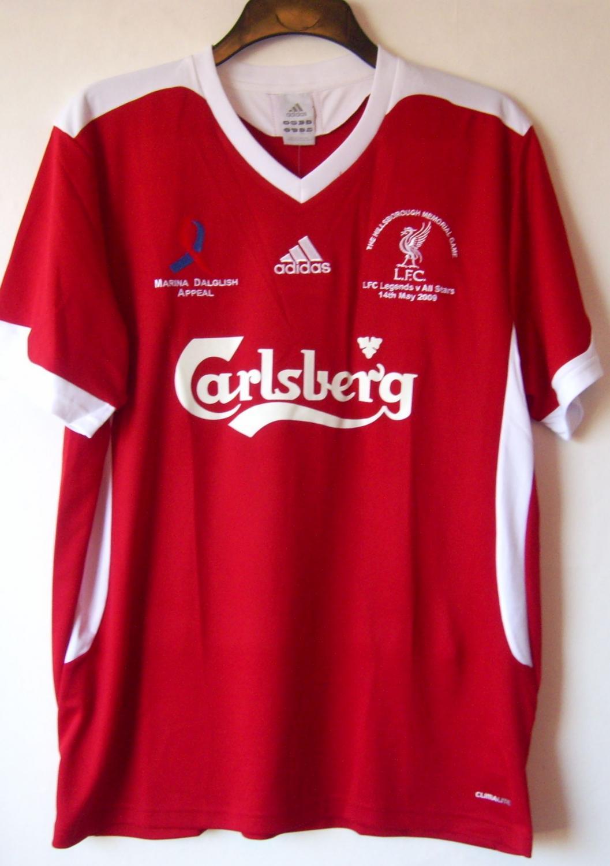 69a0fdc3c Liverpool Special camisa de futebol 2009. Sponsored by Carlsberg