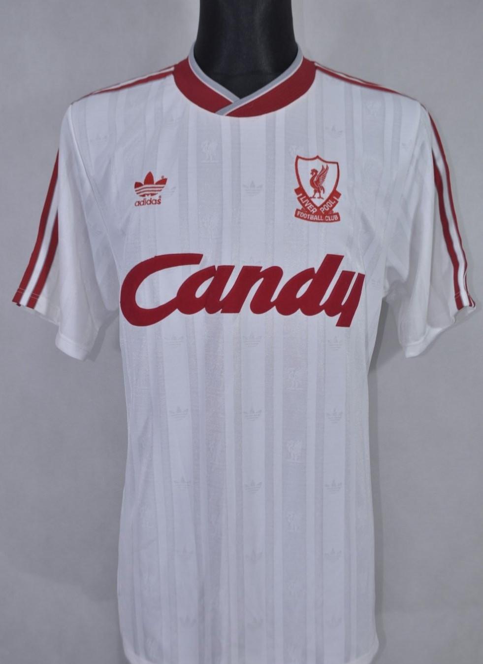 uk availability 4750c c5b5d Liverpool Third baju bolasepak 1988 - 1989. Sponsored by Candy