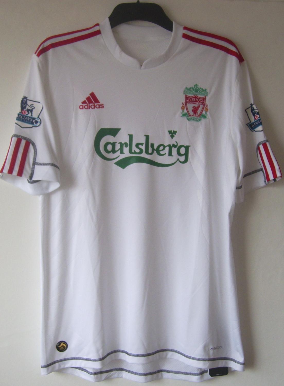 Liverpool Il Terzo maglia di calcio 2009 - 2010. Sponsored by ...