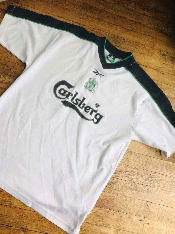 Liverpool Training/Leisure football shirt 2001 - 2002.
