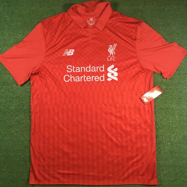 new product ad8d4 e2c0c Liverpool Training/Leisure Camiseta de Fútbol 2015 - 2016.