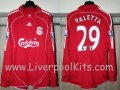 Liverpool Thuis  voetbalshirt  2006 - 2008