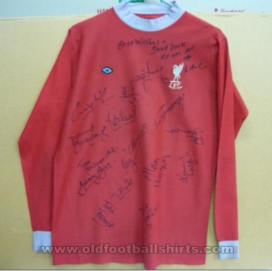 Liverpool Home football shirt 1973 - 1974