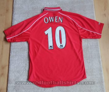 Liverpool Home football shirt 2000 - 2002