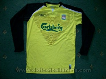 Liverpool Goalkeeper football shirt 2005 - 2006
