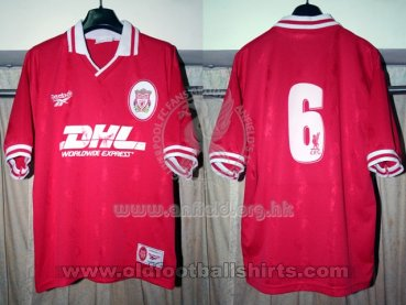 Liverpool Womens Teams football shirt 1996 - 1997