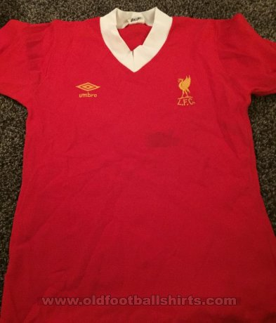 Liverpool Thuis  voetbalshirt  1979 - 1982