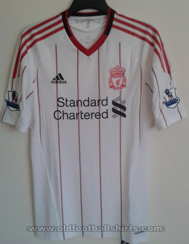 Liverpool Away football shirt 2010 - 2011