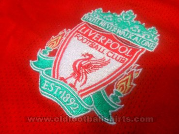 Liverpool Home football shirt 2008 - 2010