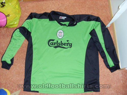 Liverpool Goalkeeper football shirt 1998 - 1999