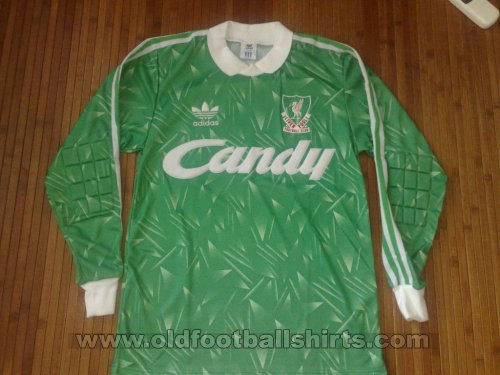 Liverpool Goalkeeper football shirt 1989 - 1991