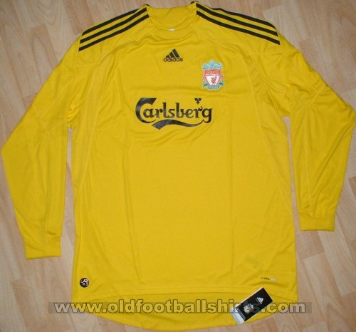 Liverpool Goalkeeper football shirt 2009 - 2010