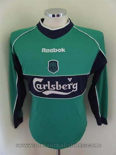 Liverpool Goalkeeper football shirt 2000 - 2001