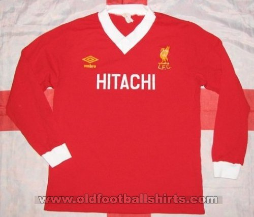 Liverpool Local Camiseta de Fútbol 1979 - 1982