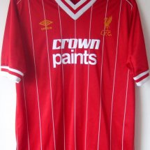 Liverpool Home football shirt 1982 - 1983 sponsored by Crown Paints