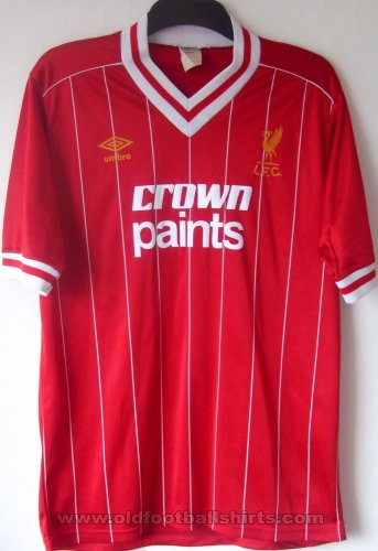 Liverpool Local Camiseta de Fútbol 1982 - 1983