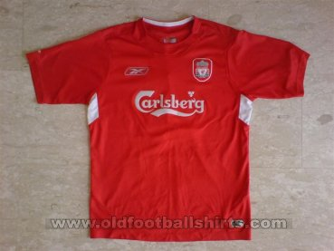 Liverpool Home Fußball-Trikots 2004 - 2006