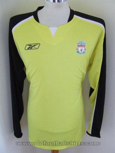 Liverpool Goalkeeper Maillot de foot 2005 - 2006