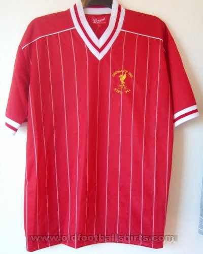 Liverpool Retro Replicas football shirt 1984