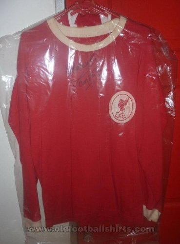 Liverpool Local Camiseta de Fútbol 1955 - 1962