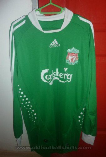 Liverpool Goalkeeper football shirt 2008 - 2009