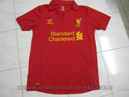 Liverpool Home Fußball-Trikots 2012 - 2013