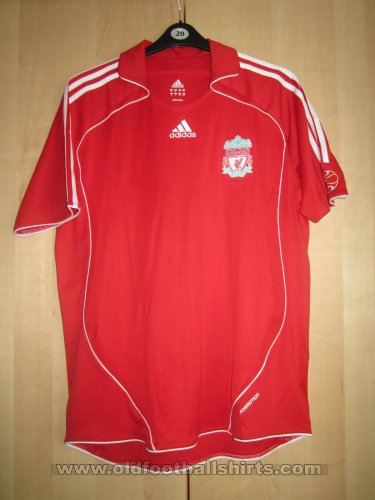 Liverpool Local Camiseta de Fútbol 2006 - 2008