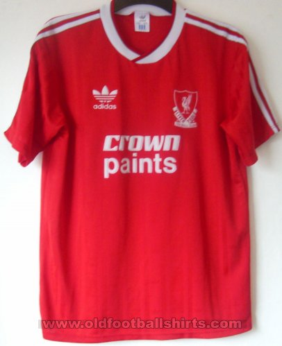 Liverpool Home voetbalshirt  1987 - 1988