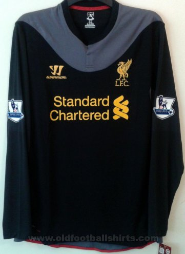 Liverpool Away football shirt 2012 - 2013