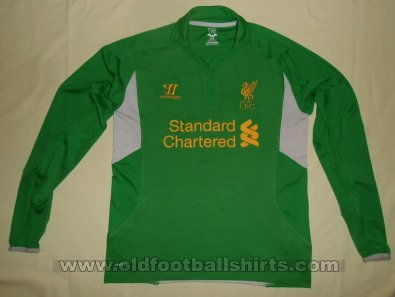 Liverpool Goalkeeper football shirt 2012 - 2013