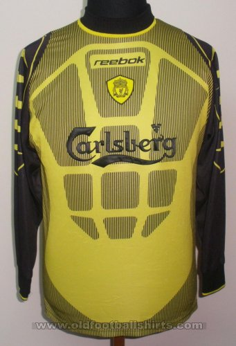 Liverpool Goalkeeper football shirt 1999 - 2001