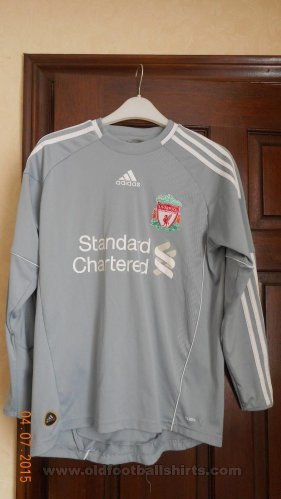 Liverpool Goalkeeper Maillot de foot 2010 - 2011