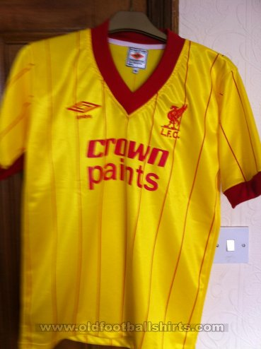 Liverpool Away football shirt 1982 - 1984