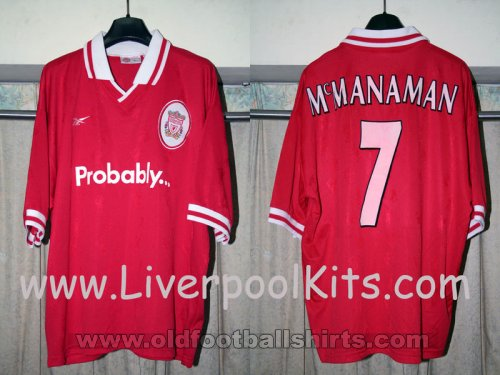 Liverpool Special football shirt 1996 - 1998