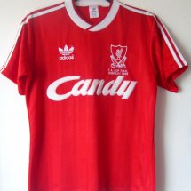 Liverpool Home football shirt 1988 - 1989 sponsored by Candy