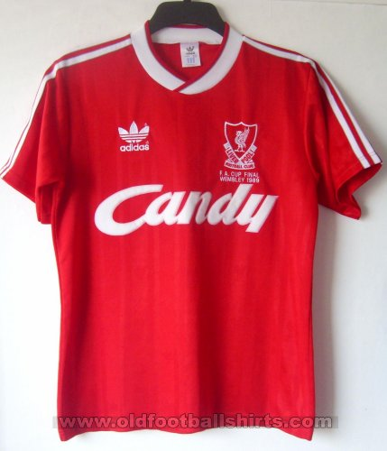 Liverpool Home football shirt 1988 - 1989