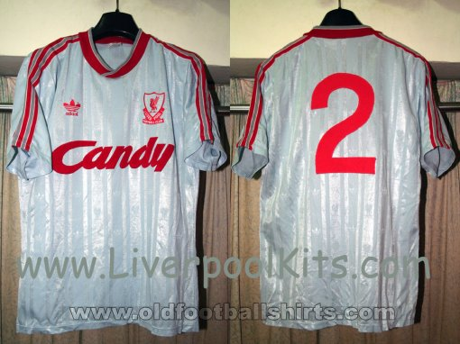 Liverpool Away football shirt 1988 - 1989