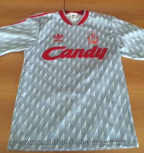 Liverpool Away football shirt 1989 - 1991