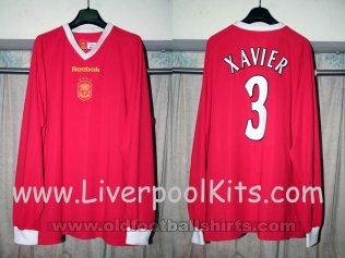 Liverpool Special football shirt 2001 - 2003