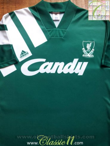 Liverpool Away football shirt 1991 - 1992